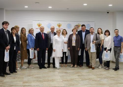 Центр посетила делегация ОМЦ ФМБА России по СФО